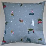 "Cushion Cover in Sophie Allport Home For Christmas 14"" 16"" 18"" 20"" 22"" 24"""